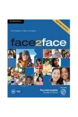 face2face Pre-intermediate - Student's Book with DVD-ROM - 2nd edition (NEW)