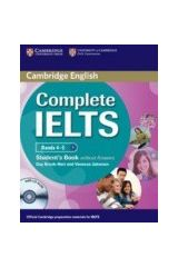 Cambridge - Complete IELTS Bands (4-5) - Student's Book without answers with CD-ROM (New)