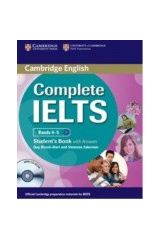 Cambridge - Complete IELTS Bands (4-5) - Student's Pack (Student's Book with answers with CD-ROM and Class Audio CDs (2)) (New)