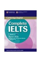 Cambridge - Complete IELTS Bands (4-5) - Teacher's Book (New)