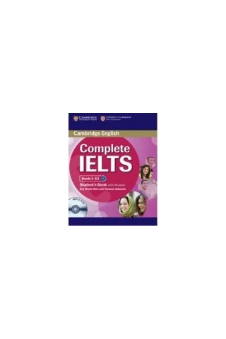 Cambridge - Complete IELTS Bands (5-6) - Student's Book with answers with CD-ROM (New)