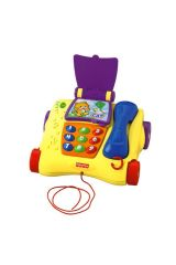 Fisher-Price Laugh and Learn Συρόμενο Τηλέφωνο με ζωάκια P0113