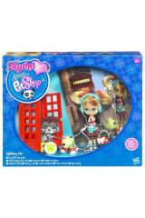 LPS BLYTHE DOLL WITH 2 PETS ASST