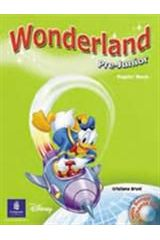 Wonderland Pre-Junior - Pupil's Book & Song CD Pack