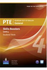 PTE General Skills Boosters Level 4 - Student's Book With Audio Cds