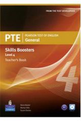 PTE General Skills Boosters Level 4 - Teacher's Book (Overprinted) With Audio Cds