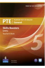 PTE General Skills Boosters Level 5 - Teacher's Book (Overprinted) With Audio Cds