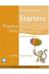 Young Learners Starters Practice Tests Plus - Teacher's book with Multi-ROM & Audio CD