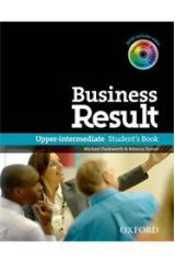 BUSINESS RESULT UPPER-INTERMEDIATE Student's Book (+ DVD-ROM + ONLINE W/B)