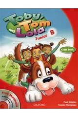 Toby Tom And Lola Junior B Student's book + Reader + Cd Rom