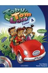 Toby Tom And Lola Junior A Student's Book + Cd Rom