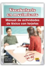 VOCABULARIO EN MOVIMIENTO-LIBRO+TARJETAS DE VOCABULARIO