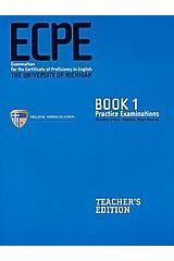 ECPE Practice Examinations Book 1 Teacher's Edition with 4 CDs