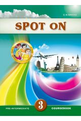SPOT ON 3 COURSEBOOK &Free: SPOT ON 3 WRITING BOOKLET