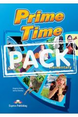 Prime Time Elementary (Power Pack). Student's Book, WorkBook & Grammar, Companion, I-Ebook