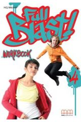 Full Blast 4 Workbook (Includes CD)