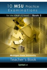 10 MSU Practice Examinations for the CELP 2: CDs