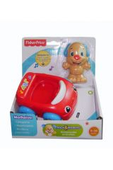 FISHER PRICE PRICE BMD11 ΣΚΥΛΑΚΙ ΜΕ ΕΚΠΑΙΔΕΥΤΙΚΟ ΟΧΗΜΑΤΑΚΙ - ΜΠΛΕ