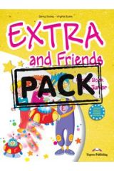 Extra and Friends Pre-Junior Power Pack (Pupil's Book, Alphabet Book, Activity Book, multi-ROM & ieBook)