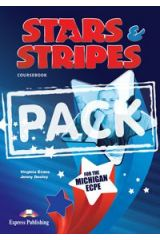 Stars & Stripes Michigan ECPE Power Pack (Student 's Book, Skills Builder, Companion & Skills Builder Study Companion)