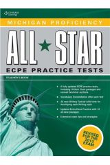 Michigan Proficiency All Star ECPE Practice Tests Teacher's book & Glossary Revised 2013