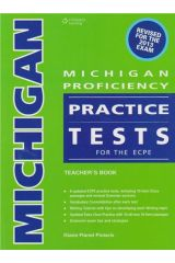 Michigan Proficiency Practice Tests for the ECPE Teacher's Pack (Book+Gloss+CD) (revised 2013)