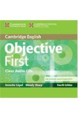 Objective First class audio CD 4TH ED Revised 2015 EXAM