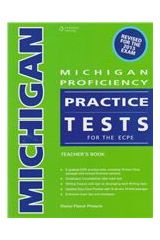Michigan Proficiency Practice Tests for the ECPE Teacher's Book + Glossary (revised 2013)