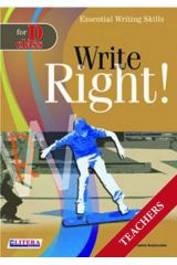 Write Right for D Class: Teacher's Book
