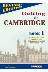 Getting To Cambridge 1 Coursebook
