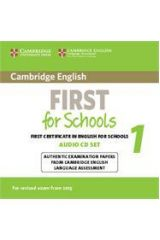 Cambridge English First For Schools 1 CDs (2)