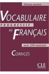 Vocabulaire Progressif Avance 2ND EDITION Corriges