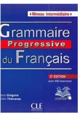 Grammaire Progressive Intermediare (+680 EXERC+CD) 3e EDITION