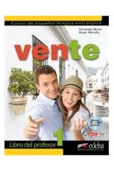 Vente 1 - Profesor + audio cd