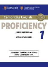 Cambridge English Proficiency 1 Student's book without answers