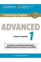 Cambridge Advanced 1 Practice Tests Without Answers Revised 2015