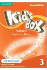 Kid's Box 3 Teacher's Resourse Pack (Book + On Line Audio) 2nd Edition