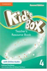 Kid's Box 4 Teacher's Resourse Pack (Book + On Line Audio) 2nd Edition