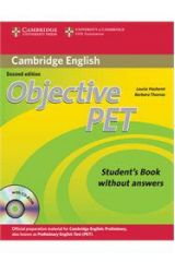 Objective PET Student's Book Without Answers (+CD-ROM)