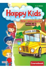 Happy Kids Junior A+B Workbook and Words and Grammar (One-year course)