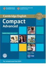 Compact Advanced Student's Book without Answers with CD-ROM ( 2015 FORMAT)