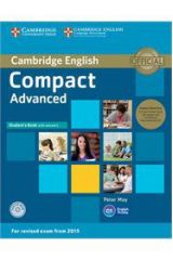 Compact Advanced Student's Pack (student's with answers & CD-Rom & Audio CD) ( 2015 FORMAT)