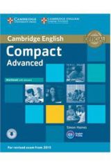 Compact Advanced Workbook with Answers + On Line Audio ( 2015 FORMAT)