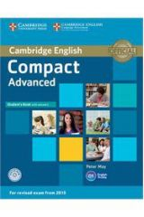 Compact Advanced Student's Book with Answers with CD-ROM ( 2015 FORMAT)