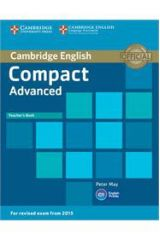 Compact Advanced Teacher's book with CD-ROM ( 2015 FORMAT)