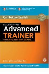Advanced Trainer Student's with Answers & Audio cd 2nd edit. NEW REVISED 2015