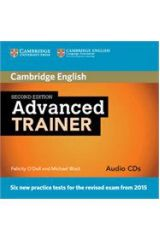 Advanced Trainer Audio Cd (3) 2nd edition NEW REVISED 2015 EXAMS