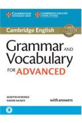 Grammar & Vocabulary for Advanced with answers