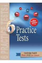 6 Practice Tests First for Schools Student's Book (New Format 2015)