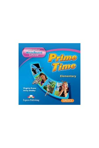 Prime Time Elementary Interactive Whiteboard Software - for Greece Virginia  Evans,Express Publishing